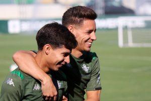 Rubi habló sobre la continuidad de Diego Lainez en el Real Betis