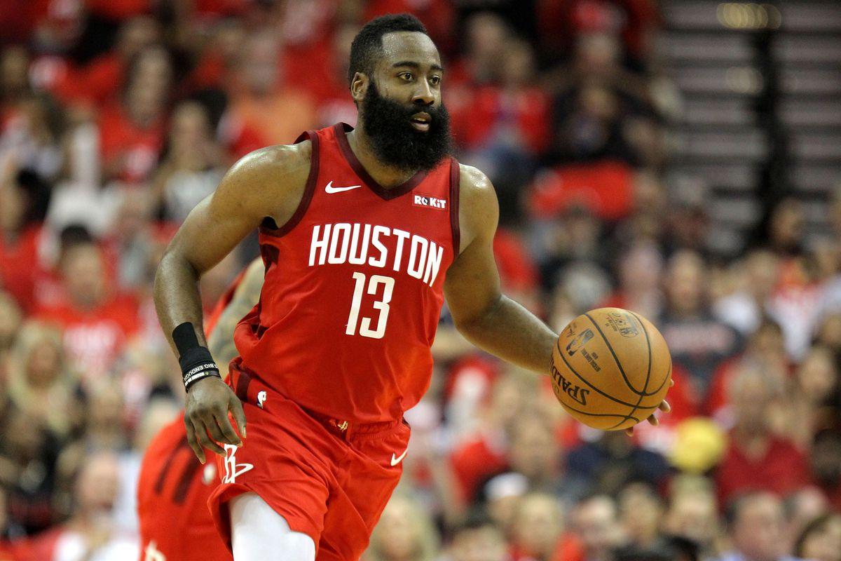 Así lucía James Harden de los Houston Rockets sin barba