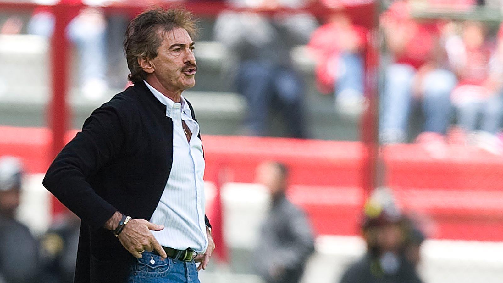 LaVolpe reconoció culpa por el mal momento del Toluca y explotó contra los medios