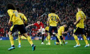 El golazo de Scott McTominay en el Manchester vs Arsenal
