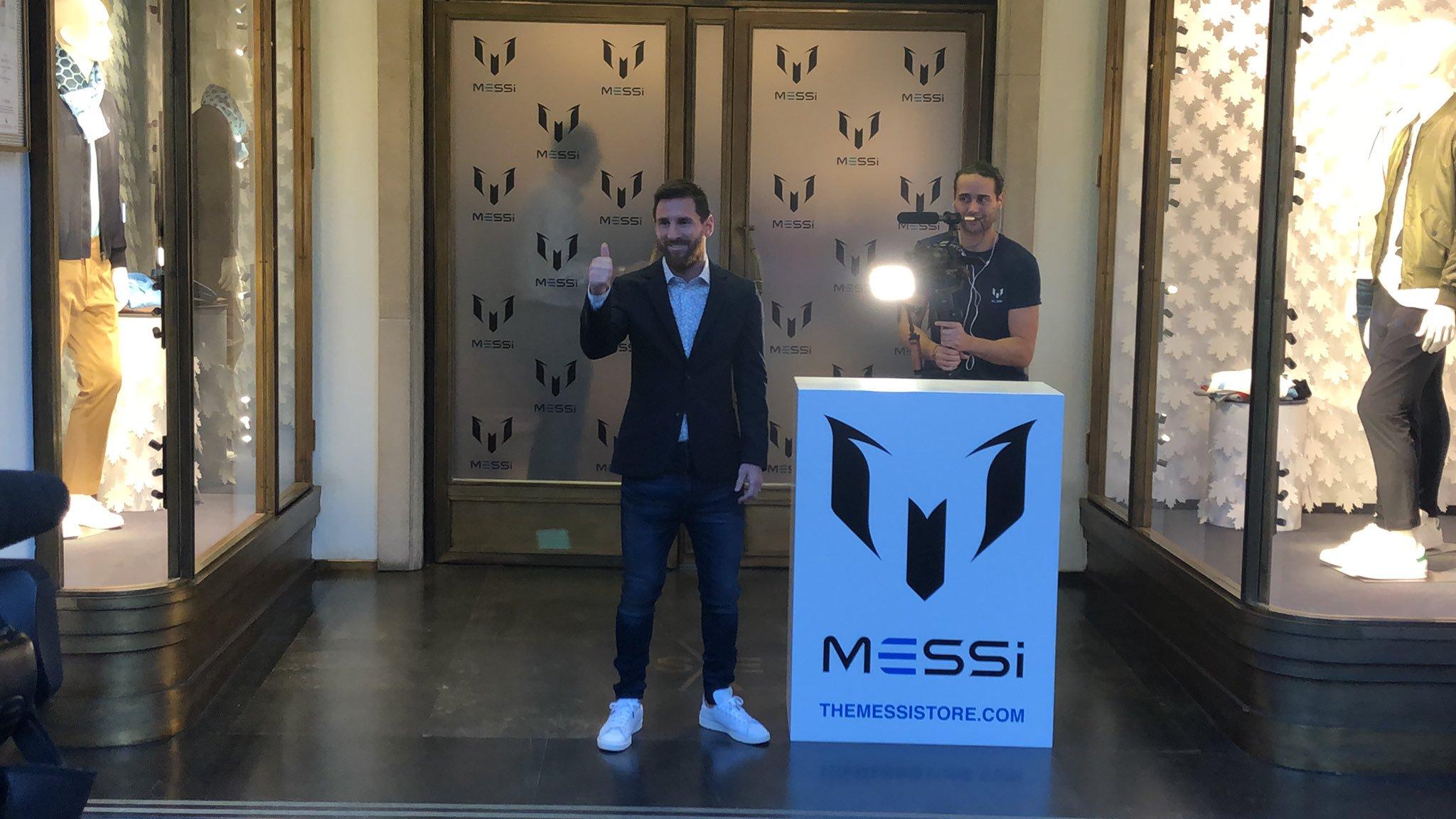 Lionel Messi se une al mundo de la moda y lanza su propia marca de ropa