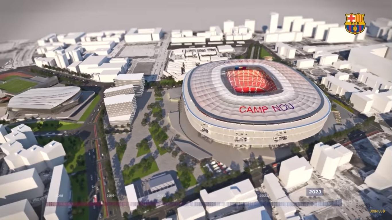 Así lucirá el Camp Nou en 2024