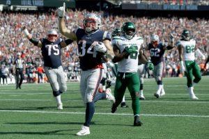 Patriotas de Nueva Inglaterra apalea a los Jets y sigue invicto en la NFL