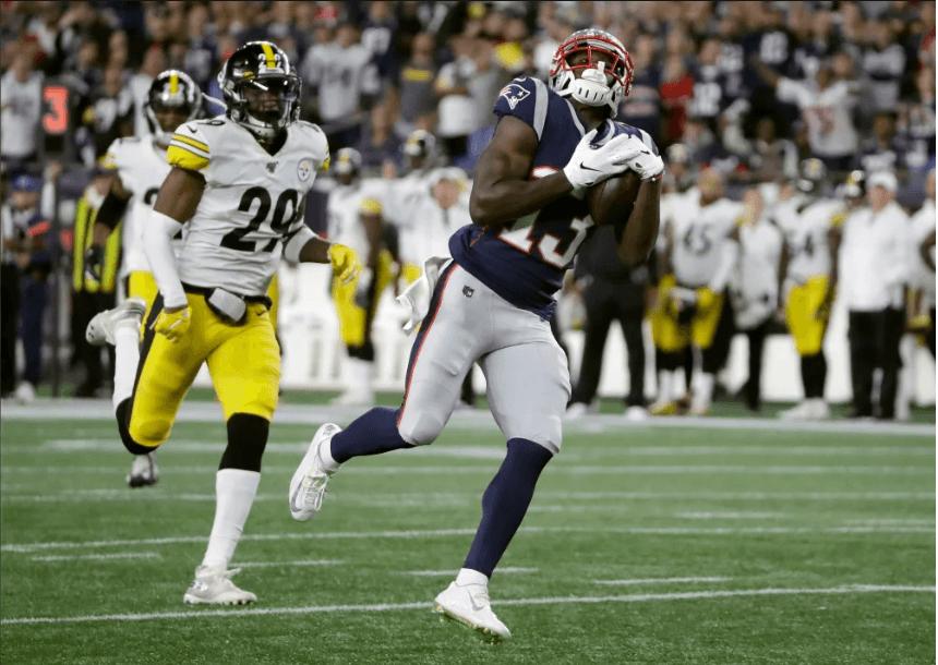 New England Patriots aplasta 33-3 a Steelers en semana 1 de la NFL