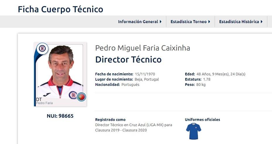 Pedro Caixinha aún es DT de Cruz Azul para la Liga MX