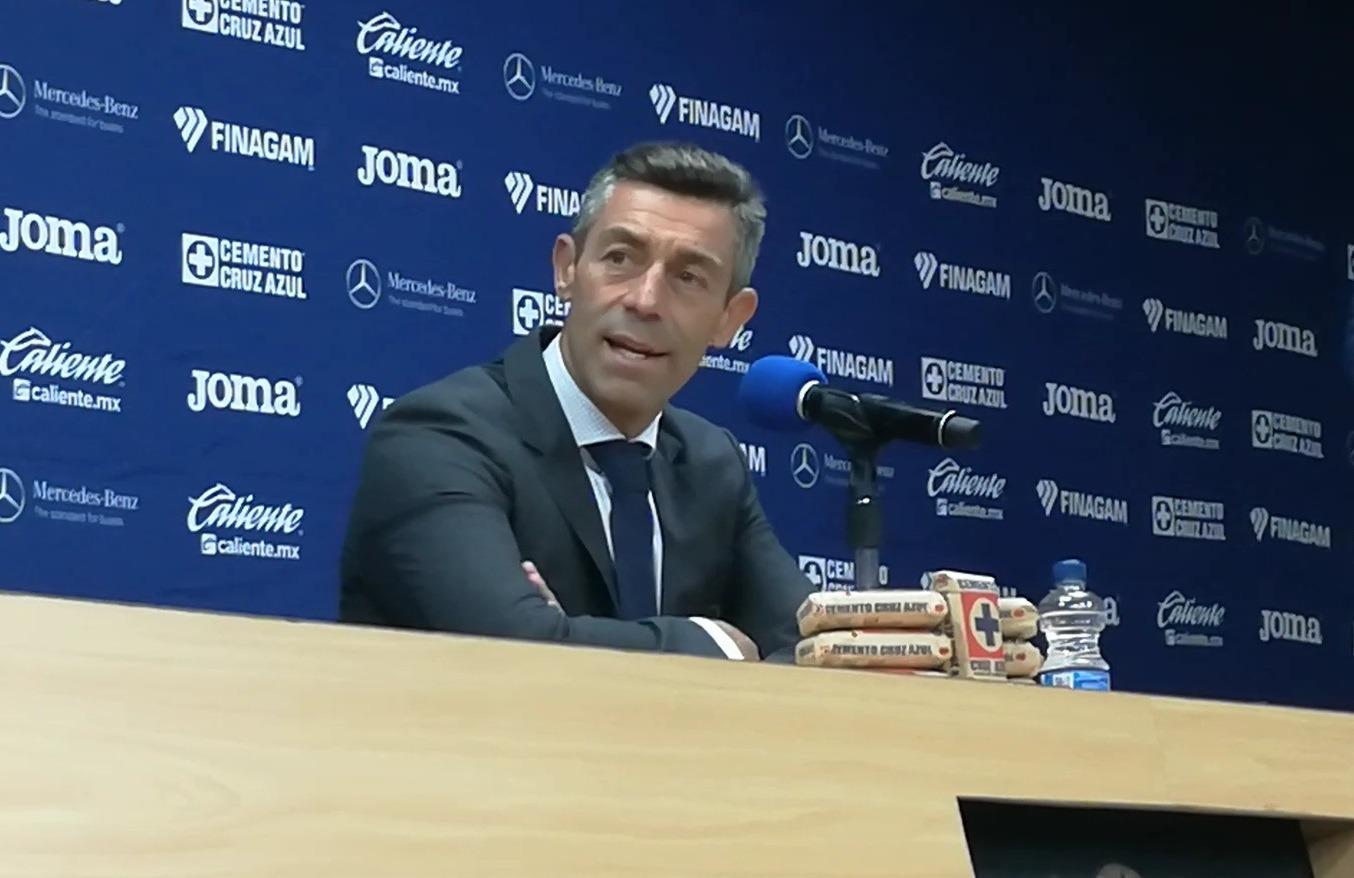 Para Pedro Caixinha, Cruz Azul se quedó corto en los partidos de la fecha doble