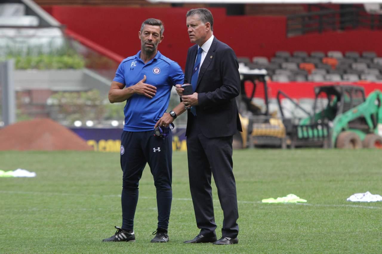 Ricardo Peláez también podría salir de Cruz Azul