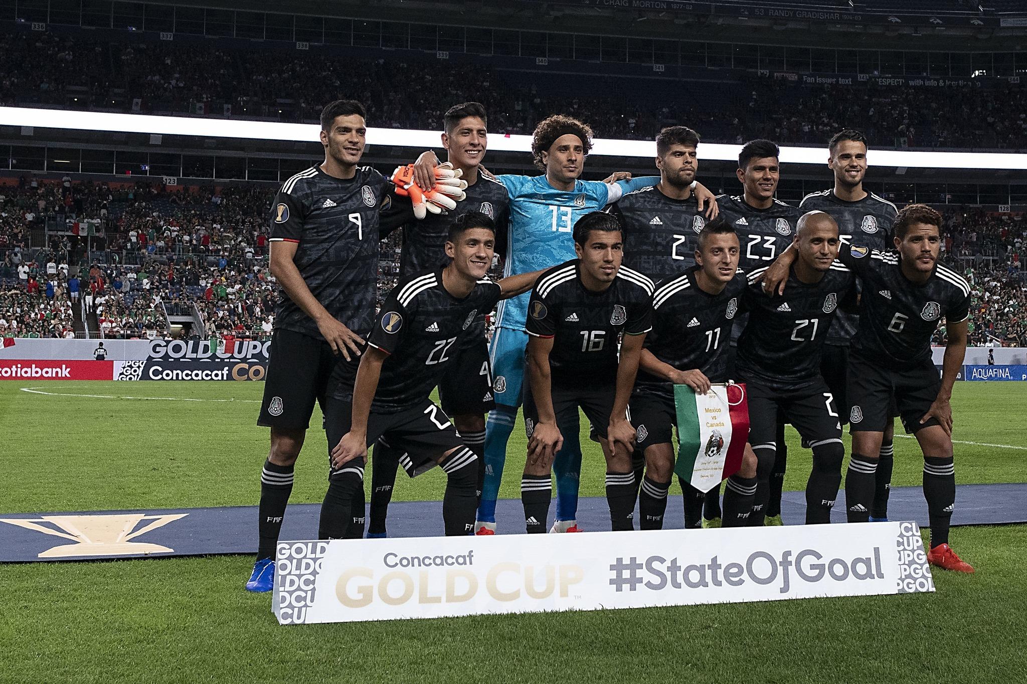 Con este once saldrá México al partido contra Estados Unidos