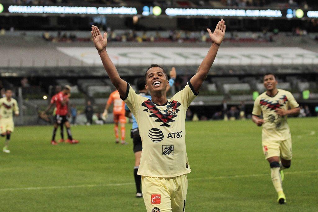 Giovanni Dos Santos comienza su recuperación tras golpe del Pollo Briseño