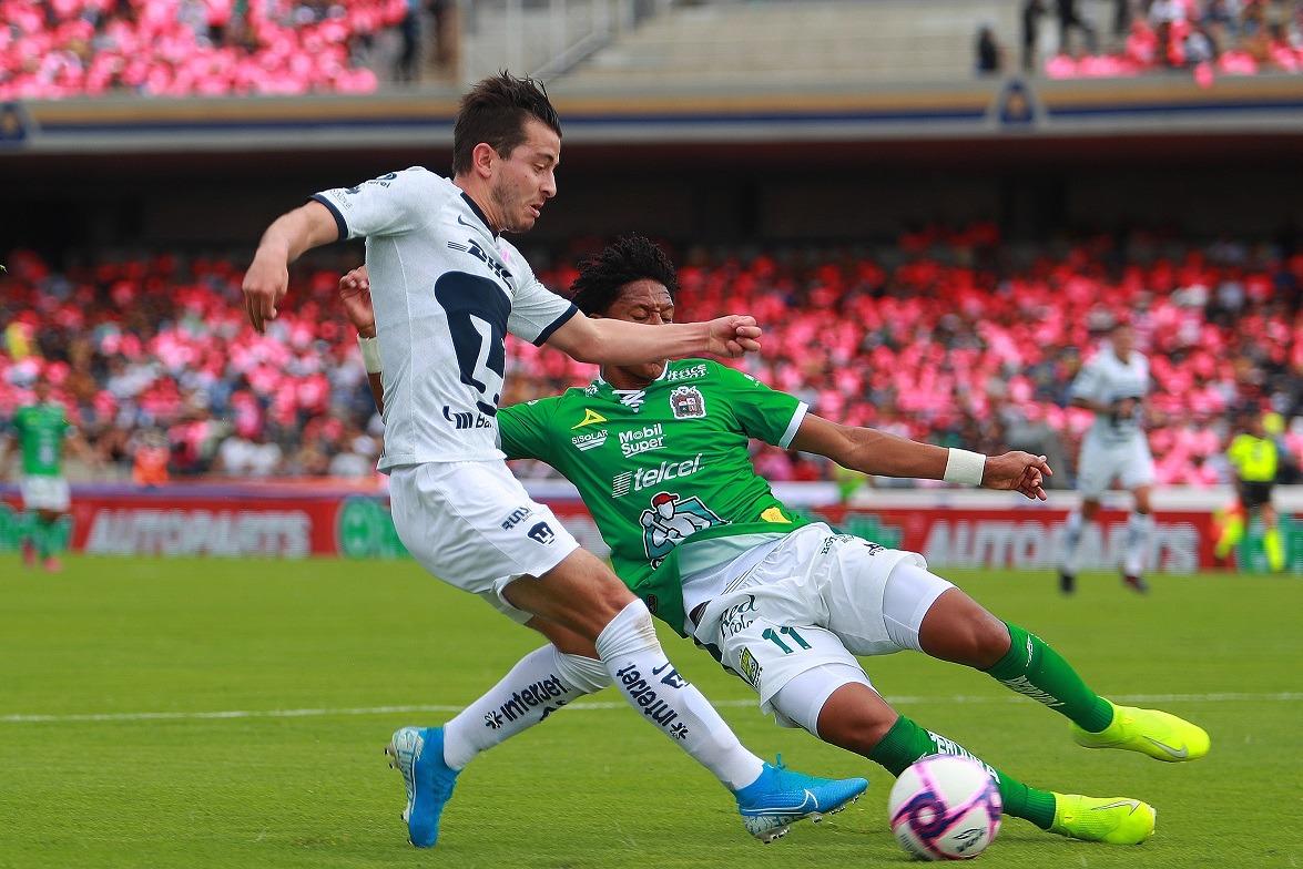 Pumas cae 2-1 con León y complica su clasificación a Liguilla