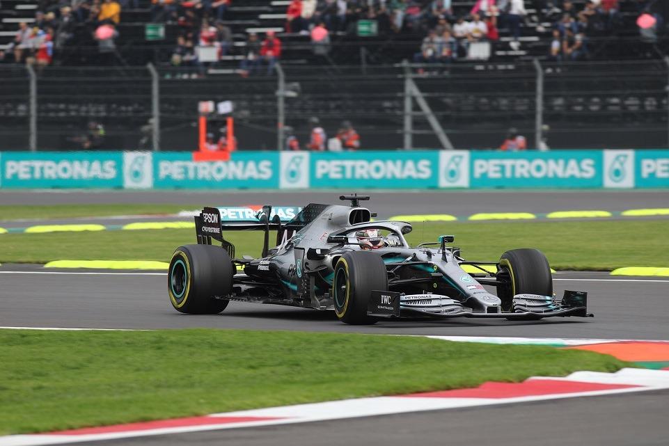 Así le ha ido a Lewis Hamilton en el Gran Premio de México