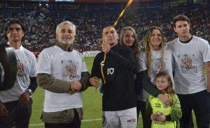 'Chaco' Giménez tendrá partido de despedida con Riquelme como invitado