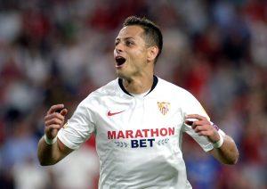 'Chicharito' Hernández regala el segundo triunfo al Sevilla en Europa League
