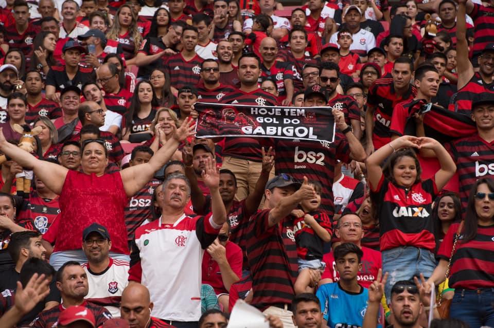 Hincha Flamengo Libertadores