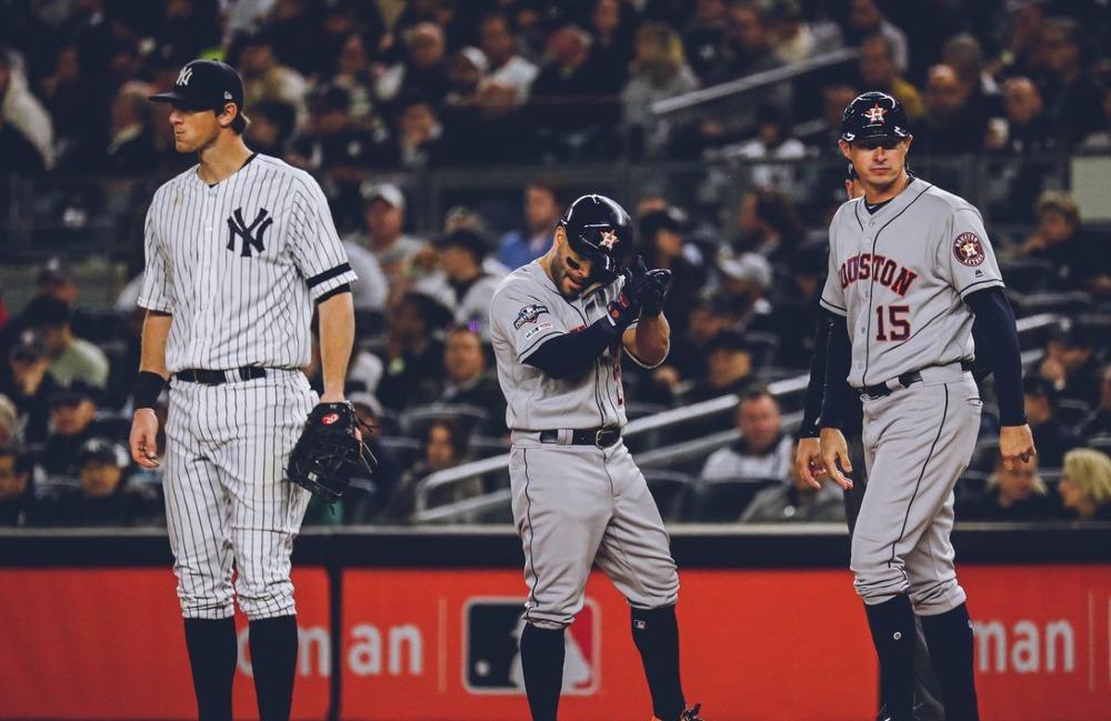 Juego 4 de Yankees y Astros fue suspendido por amenaza de lluvia en Nueva York
