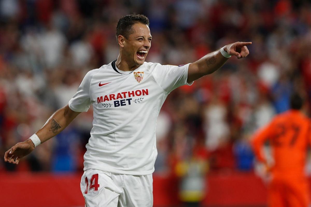 Aficionados del Sevilla piden al Chicharito de titular sobre De Jong
