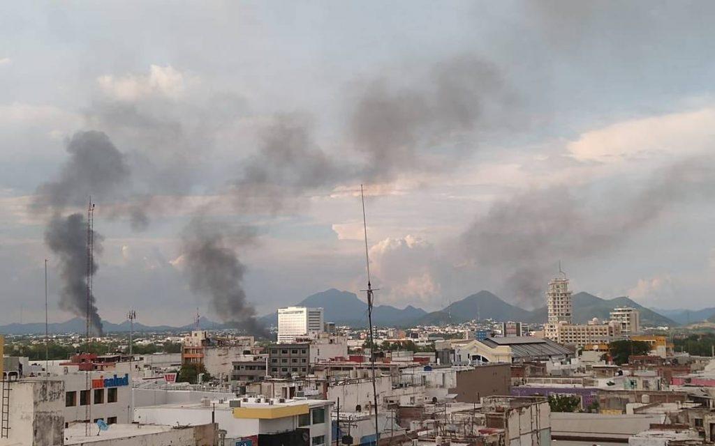 Culiacán permanece en estado de sitio tras actos violentos