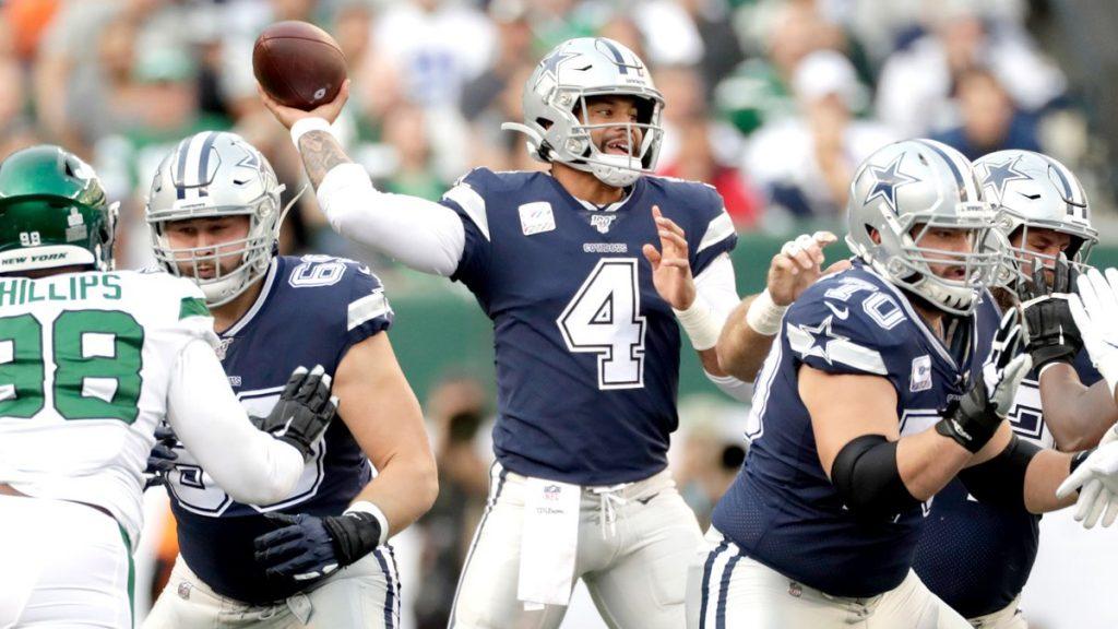 Dallas Cowboys continúa en caída libre y pierde 24-22 con los Jets de Nueva York