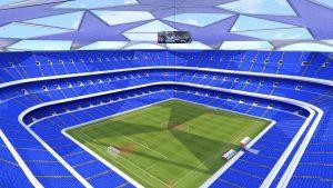 Así sería un estadio exclusivo para la Champions League