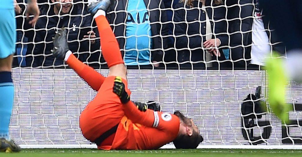 Hugo Lloris, Spurs, fractura