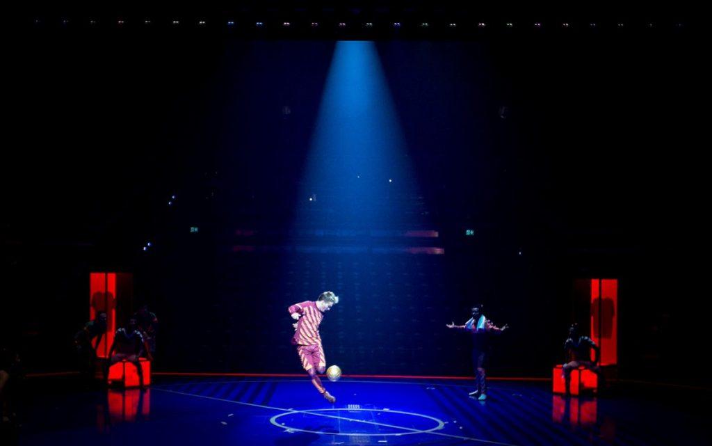 Messi, Cirque du Soleil