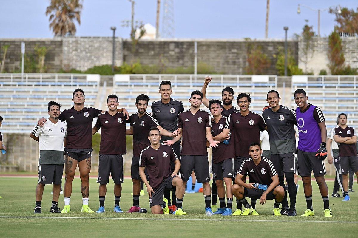 México perdió la última vez que jugó de visita con Bermudas