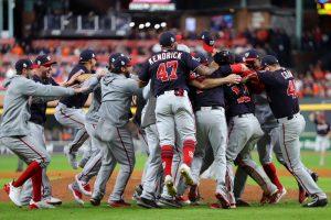 Nacionales hacen historia y consiguen su primer título frente a los Astros