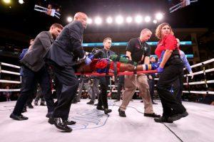 Boxeador Patrick Day es hospitalizado de emergencia tras brutal KO