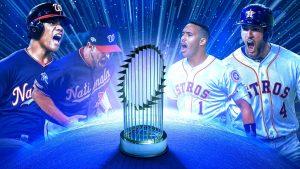 Así se jugará la Serie Mundial entre Astros y Nacionales