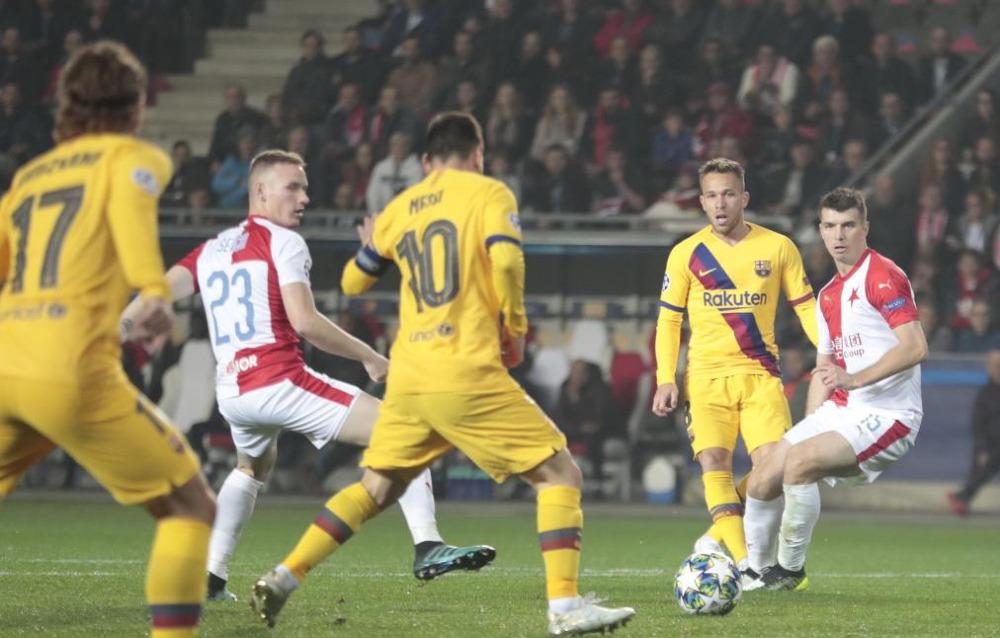 Barcelona vs Slavia Praga: Horario y dónde ver en vivo la Jornada 4 de la Champions League