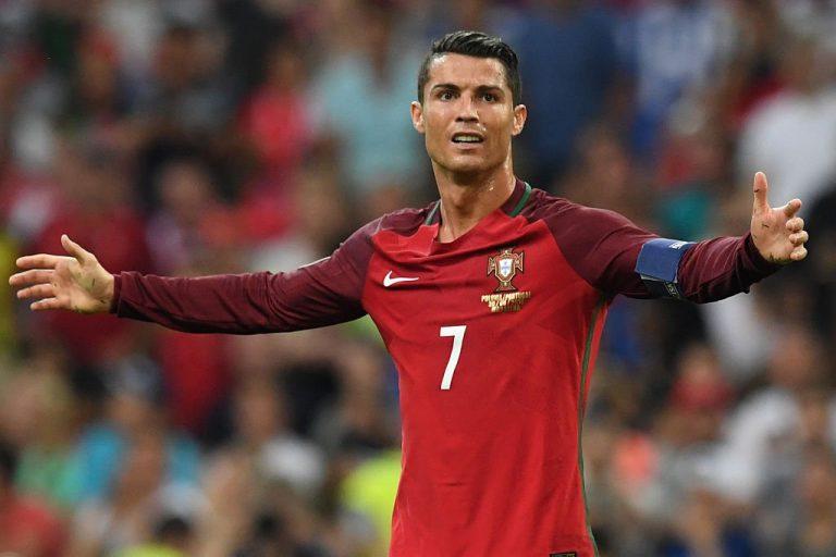 Cristiano Ronaldo Titular Portugal
