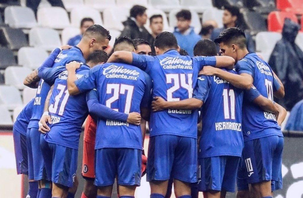 Cruz Azul presenta tres bajas para recibir a Atlético San Luis