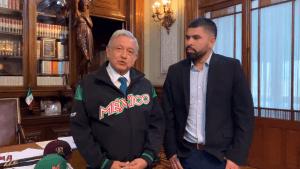 Andrés Manuel López Obrador recibió a José Urquidy en Palacio Nacional