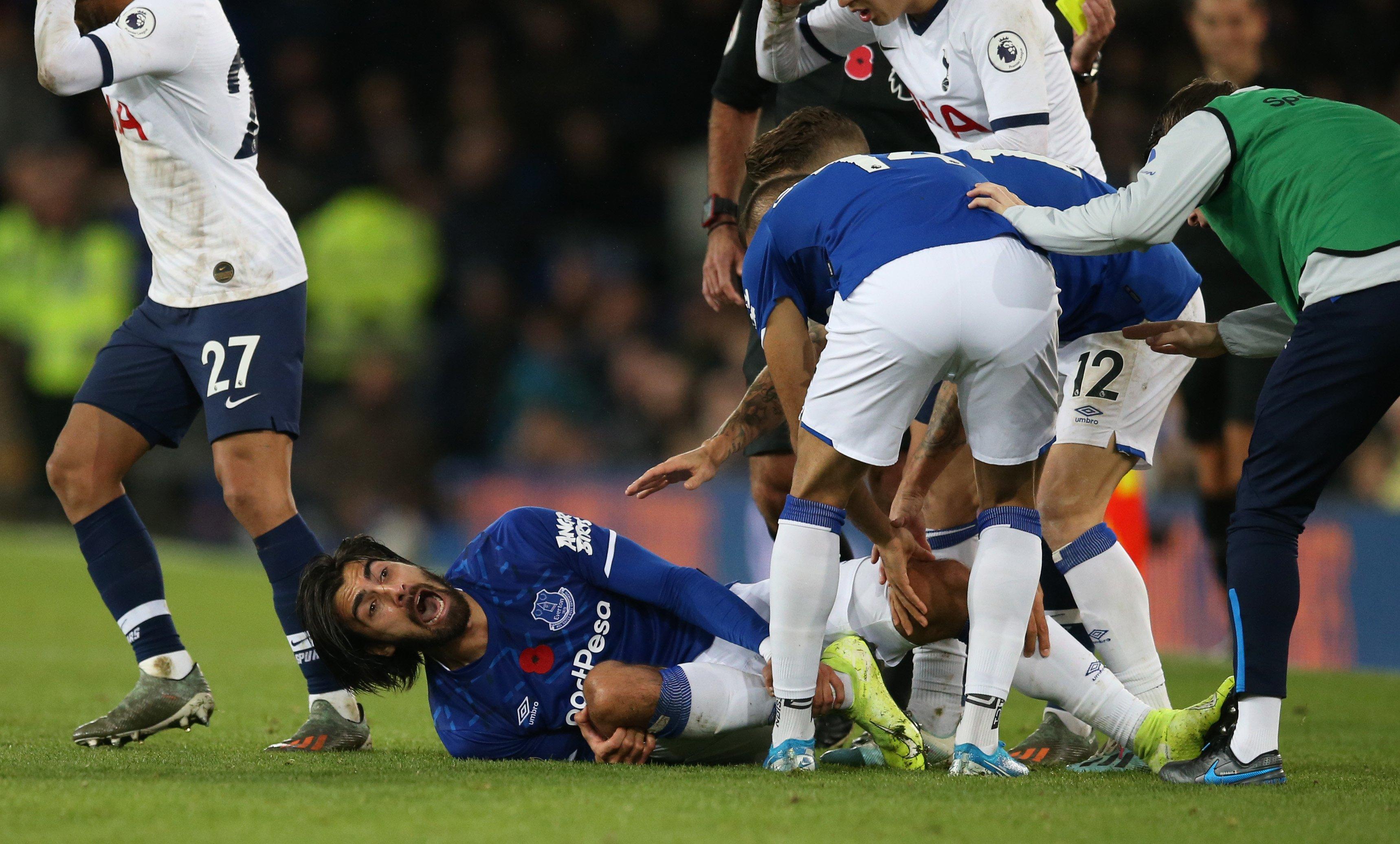 VIDEO: Así fue la escalofriante lesión de André Gomes