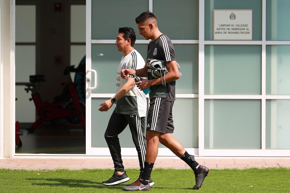 Edson Álvarez abandonó el entrenamiento de la Selección Mexicana