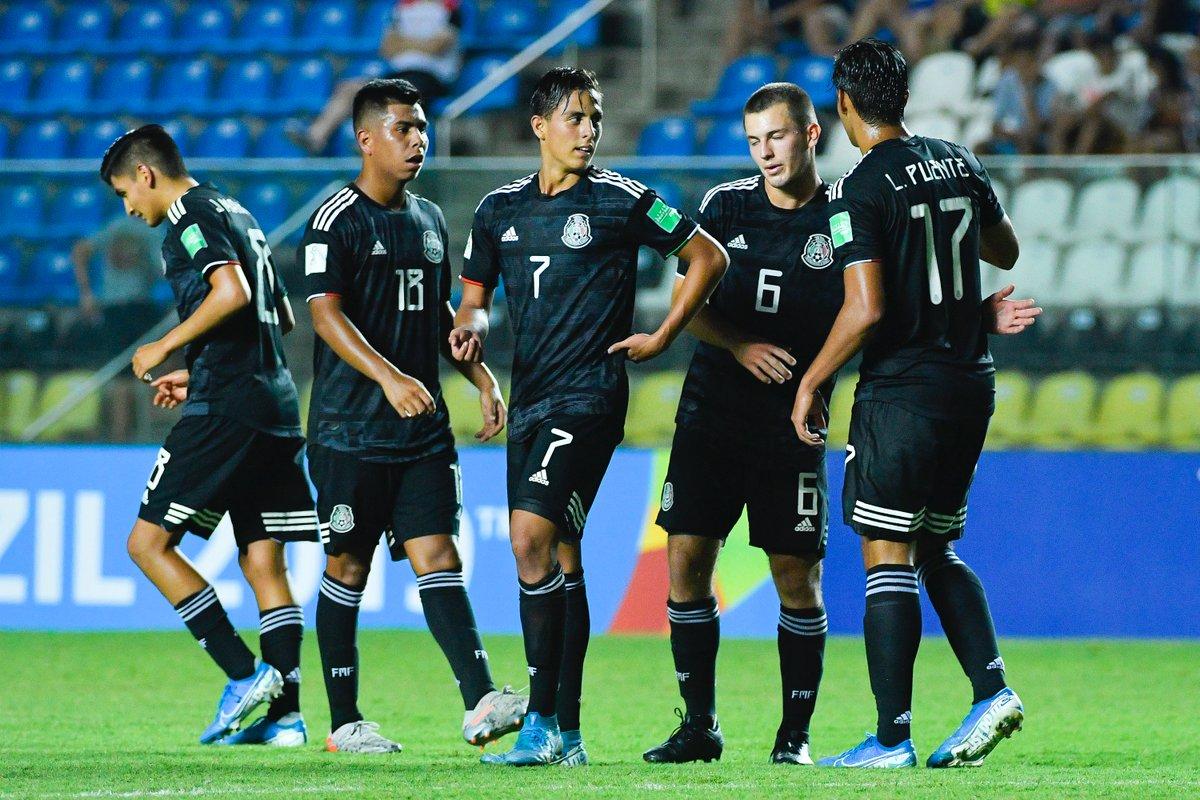 Tri sub-17 golea 8-0 a Islas Salomón y clasifica a octavos del mundial