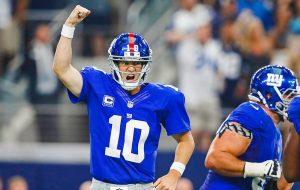 Eli Manning volverá a la titularidad con los New York Giants