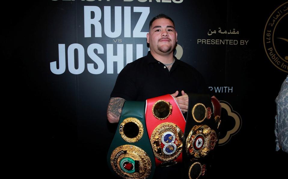 Este es el corrido de Andy Ruiz, el Rocky Mexicano