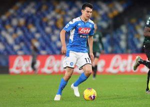 'Chucky' Lozano fue titular en la derrota del Napoli en casa
