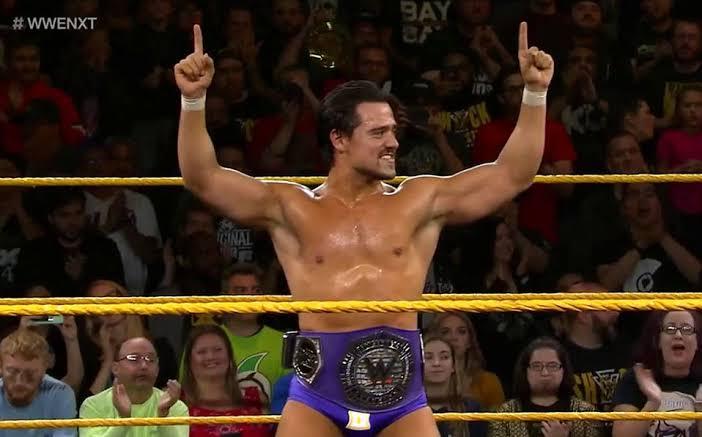 Ángel Garza obtuvo campeonato de la WWE