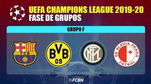Barcelona y Dortmund los invitados a la siguiente ronda del Grupo F