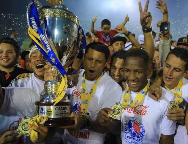 Club Deportivo Olimpia se consagró campeón de Honduras