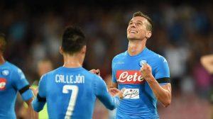 Napoli con actuación Jerárquica se clasifica a los Octavos de Final de la Champions