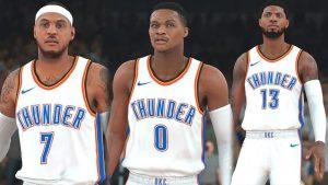 Clippers de Los Ángeles sin sus estrellas fue derrotado por el Thunder