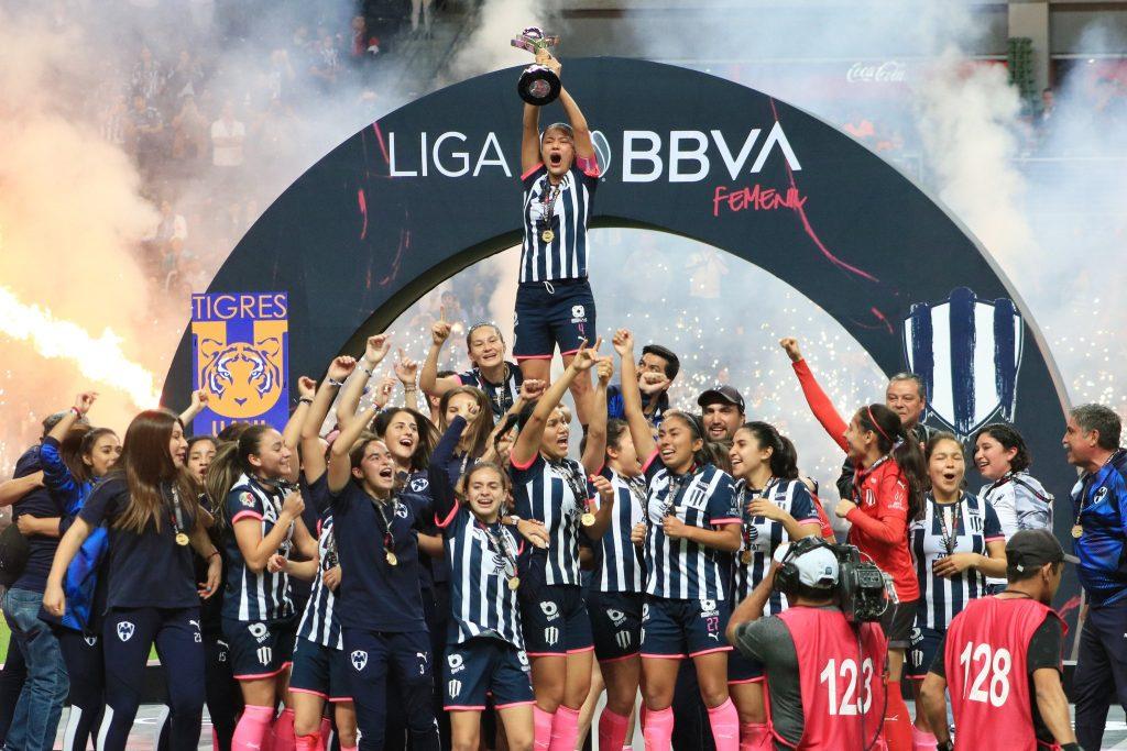 Rayadas de Monterrey campeonas de la Liga MX Femenil