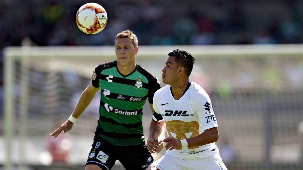 Octavos de final de la Copa MX Santos recibe a Pumas