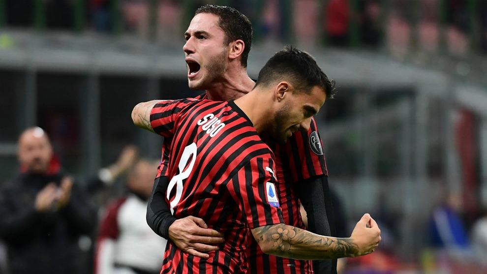 AC Milan derrota a SPAL y continua en la Copa