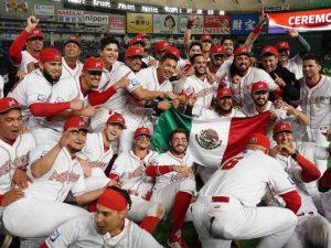 Ranking mundial para Tokio 2020 aumenta por seleccion mexicana de beisbol