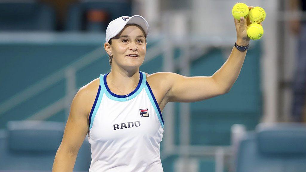 La primera ronda del Abierto de Australia es superado por Ashleigh Barty