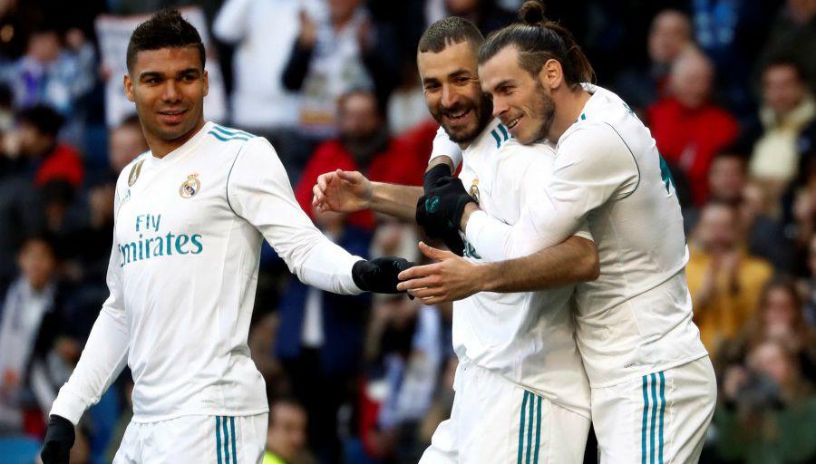Casemiro, Bale, Isco y Militao, fuera de octavos de Copa del Rey